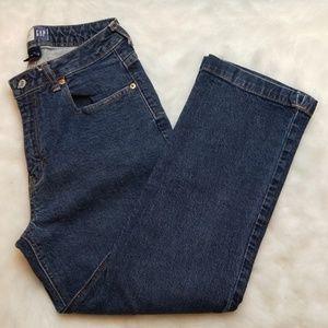 Gap crop bootcut jeans